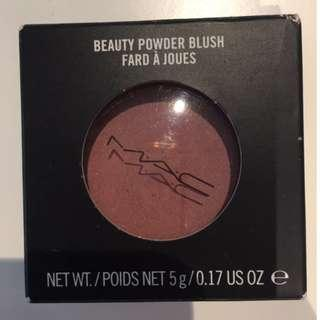 "MAC Beauty Powder Blush in ""Feeling"" 5g 0.17 OZ Cosmetics Makeup"