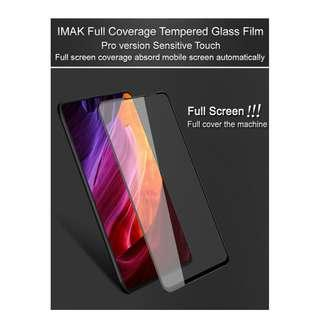 🚚 Imak Full Cover & Adhesive Tempered glass Xiaomi Mi Mix 3