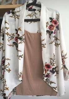 Floral Outerwear Cardigan