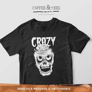 Crazy Skull Tees