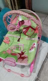 Bouncer Sugar Baby Pink Preloved No Nego FREE-ONGKIR via JNE