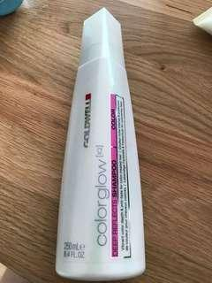 Brand new Goldwell colourglow old packaging shampoo
