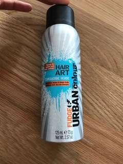 Brand new fudge hair art spray colour wash out turquoise