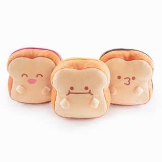 Cute Sweet Bread Plush Toy Set of 3