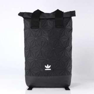 adidas 3D Roll Up Backpack (Issey Miyake) - Black