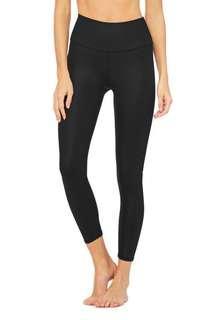 Alo yoga 7/8 airbrush yoga pants size S