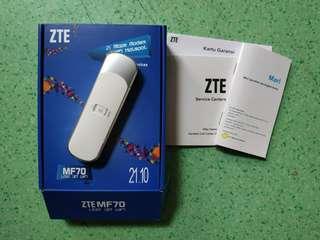 ZTE MF70 - usb 3G wifi