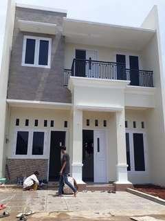 Rumah tingkat KPR dekat stasiun LMT jakarta timur