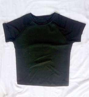 Black Top Shirt Women
