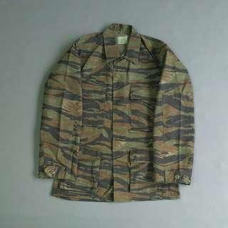 Bdu tigerstripe army camo outdoor xs