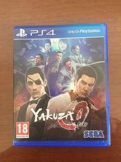 yakuza zero 0