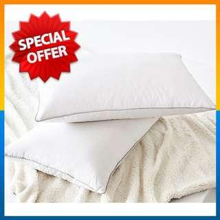 ⭐Dirty⭐5 Star Hotel Solid White Luxury Polyester Bed Pillow