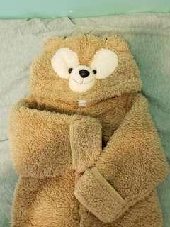 熊仔毛毛超暖連體衣 BB衫(18m)