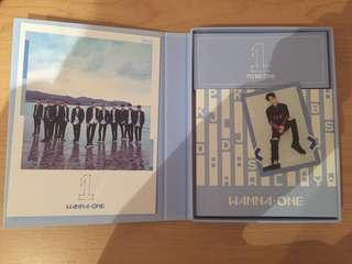 WANNA ONE (first mini album): 1x1=1 To Be One SKY version