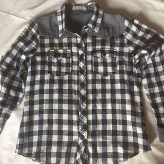 Bayo Checkered Blouse (Long sleeves)