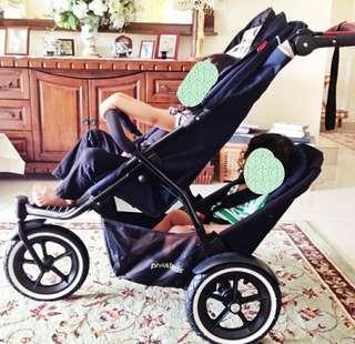 Phil & Teds Tandem Stroller (Navigator)