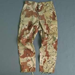 Trousers army six color camo outdoor