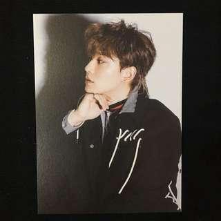 EXO DON'T MESS UP MY TEMPO OFFICIAL POSTCARD | CHEN