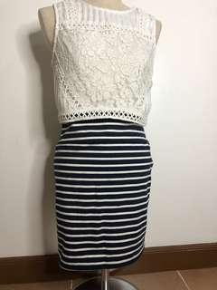 Cotton On Striped Skirt (Rok)