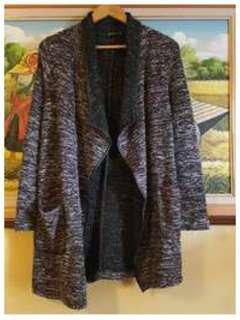Stradivarius Women Marble Winter Coat