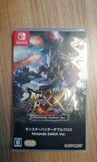 switch monster hunter xx