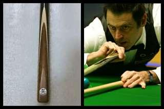 💪New Cue 🎱 奧蘇花桌球杆 John Parris Traditional Pattern Replica Snooker Master Cue Craft 1pc & 3/4 Ronnie O'Sullivan Handmade Custom Maximus Ash UK Trevor White replica Patch  Q棍 枱桿