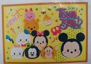 日本直送🇯🇵迪士尼Disney Tsum Tsum 卡通人物限定多用途保暖毛毯 膝上毯 披肩 BB 被仔 現貨 winnie the pooh