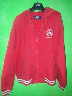 Jaket converse all star