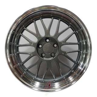 """18"""" rims LM style fits forester, wish"""