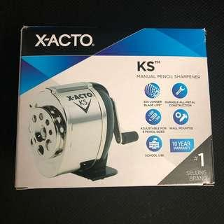 X-ACTO Ranger 55 Manual Pencil Sharpener KS Silver/Black
