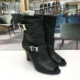 🈹under cover Leather Ankle Boot