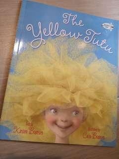 New The Yellow Tutu children story book