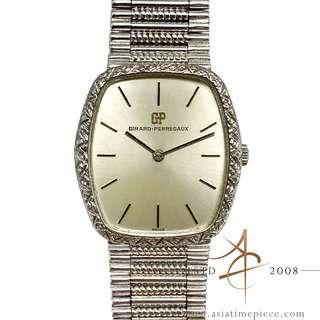 Girard Perregaux 925 Silver Vintage Winding Watch