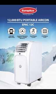 Europace Portable Aircon (epac-12c)
