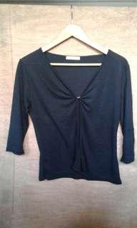 Black 3/4 Blazer [M]