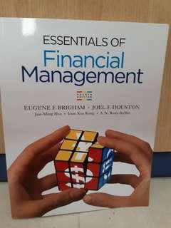 Essentials of financial management 4th edition