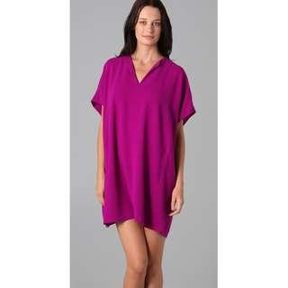 Diane von Furstenberg Squaretan Dress Tunic