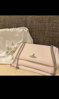 Vivien Westwood pink handbag