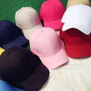 Brand New Basic Plain Baseball Cap Korean Ulzzang Fashion