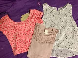 Tops 3 for $10