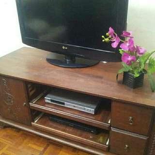 Cabinet Tv kayu ada penghantaran