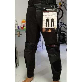 Brand New Size M Komine PK-708 Neo Knee Slider Mesh Pants