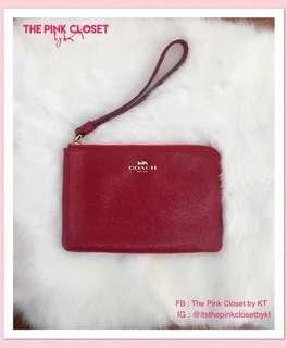 COACH WRISTLET in True Red