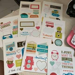 American Crafts Accent Stickers