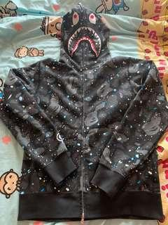 BAPE SPACE CAMO ZIP HOODIES