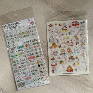 Korean Journal Stickers