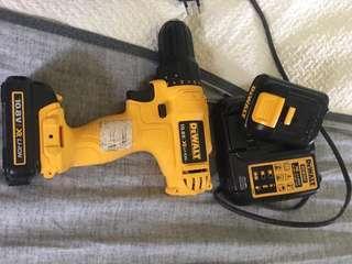 Dewalt Handheld Drill