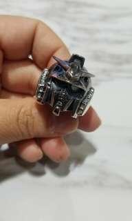 限量版 925 Gudnum Ring JAP studio 純銀高達男裝戒指