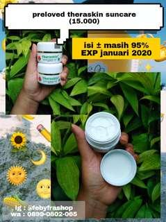#bersihbersih Preloved theraskin suncare for oily skin (mild)