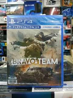 🆕 PS4 VR Bravo Team